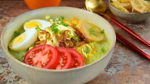 Resep soto ayam kuning super praktis terbaru