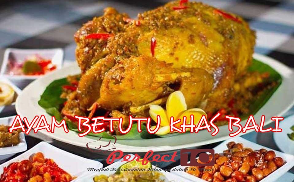 Cara Unik Memasak Resep Ayam Betutu Bali